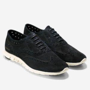 Cole Haan WMNS Zerogrand Wingtip Black shoes